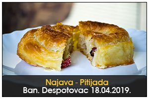PITIJADA U BANATSKOM DESPOTOVCU 18. APRIL 17H