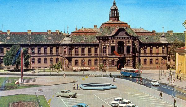 Stara zgrada Opštine Zrenjanin