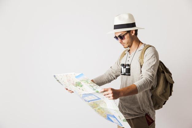hipster mapa