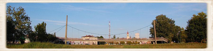 most na suvom Zrenjanin