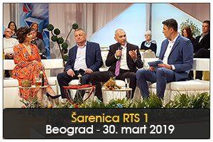 """TURISTIČKI POTENCIJALI ZRENJANINA U """"ŠARENICI"""" NA RTS 1"""