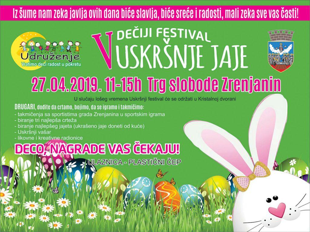 Uskršnji festival Zrenjanin - najava - Uskršnje jaje
