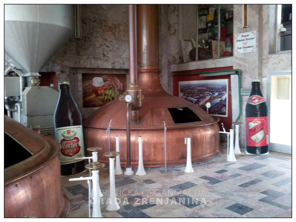 Muzej piva Zrenjanin unutrasnjost