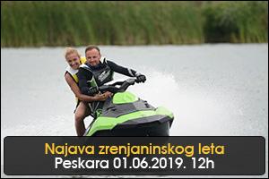 NAJAVA ZRENJANINSKOG  LETA NA PESKARI 2019