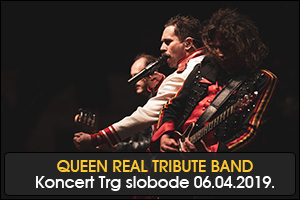 KONCERT QUEEN REAL TRIBUTE BANDA ZA PAMĆENJE