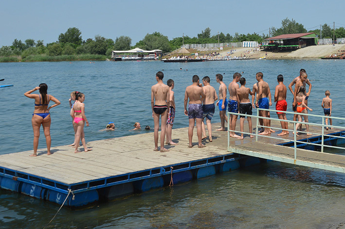 Otvaranje kupalisne sezone na Peskari u Zrenjaninu