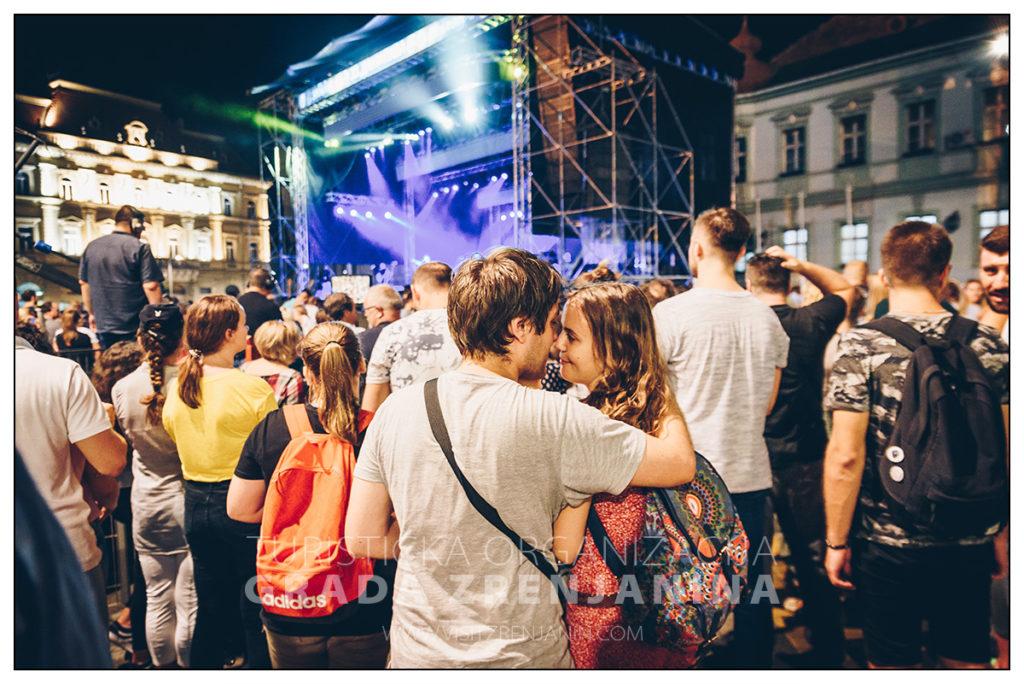 Najava muzičkog programa 34. dana piva u Zrenjaninu