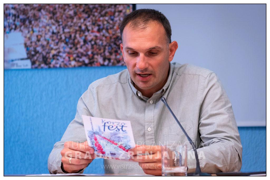 Konferencija za novinare Korzo fest Zrenjanin 2019