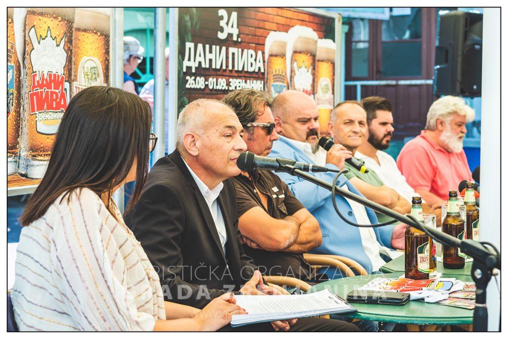 Konferencija za novinare 34. Dani piva Zrenjanin