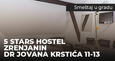 5_stars_hostel_Zrenjanin