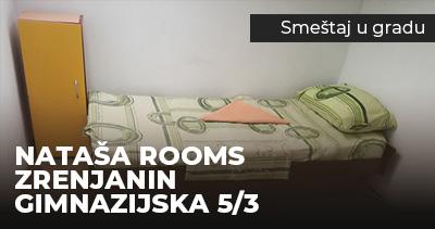 Natasa Rooms Zrenjanin